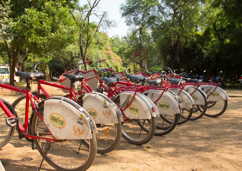 GUDA cycles in Gandhinagar
