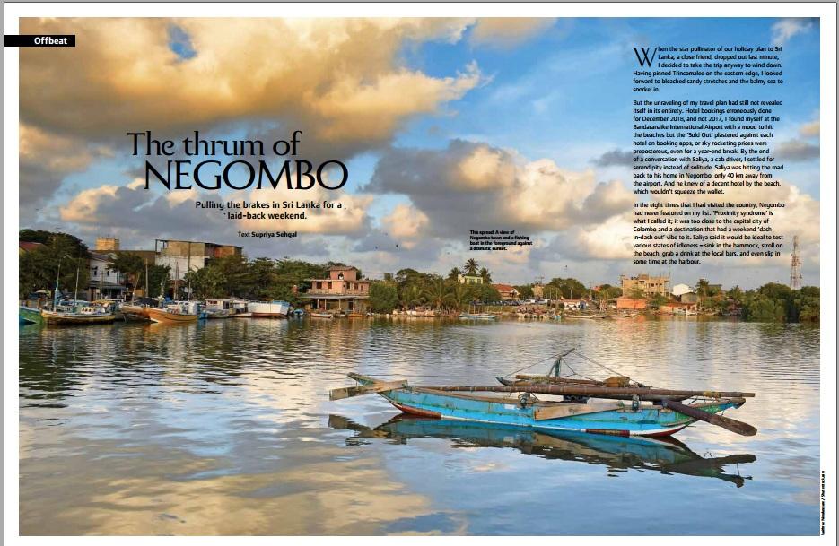 off beat vacation in negombo sri lanka
