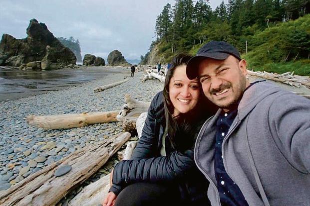 exploring iceland indian couple